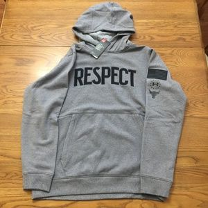 """PROJECT ROCK """"RESPECT"""" HOODIE MEN XL PULL OVER NWT"""